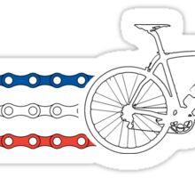 Bike Stripes France - Chain Sticker
