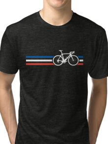 Bike Stripes French National Road Race v2 Tri-blend T-Shirt