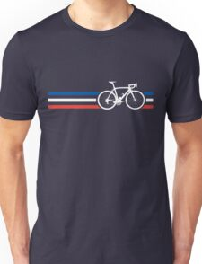 Bike Stripes French National Road Race v2 Unisex T-Shirt