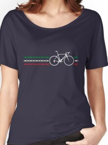 Bike Stripes Italy - Chain Women's Relaxed Fit T-Shirt