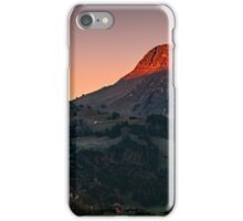 The castle at first Light iPhone Case/Skin
