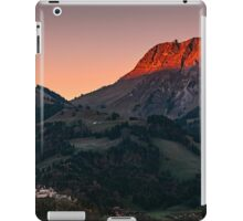 The castle at first Light iPad Case/Skin