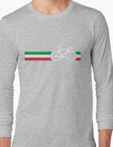 Bike Stripes Italian National Road Race Long Sleeve T-Shirt