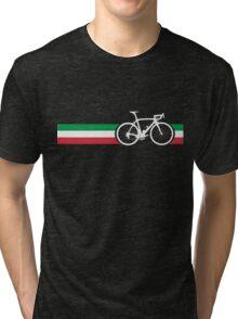 Bike Stripes Italian National Road Race Tri-blend T-Shirt