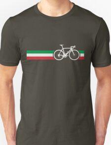 Bike Stripes Italian National Road Race Unisex T-Shirt