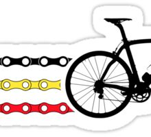 Bike Stripes Belgium - Chain Sticker