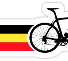 Bike Stripes Belgian National Road Race Sticker