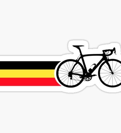 Bike Stripes Belgian National Road Race Sticker