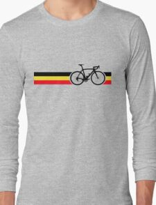 Bike Stripes Belgian National Road Race Long Sleeve T-Shirt