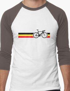 Bike Stripes Belgian National Road Race Men's Baseball ¾ T-Shirt