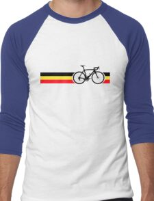 Bike Stripes Belgian National Road Race Men's Baseball ¾ T-Shirt