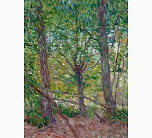 1887-Vincent van Gogh-Trees-36x46 Unisex T-Shirt