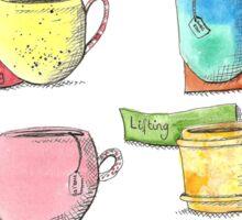 Watercolour drinks  Sticker