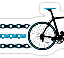 Bike Stripes Team Sky - Chain Sticker