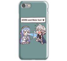 Azura used Water Gun! [Fire Emblem Fates x Pokémon] iPhone Case/Skin