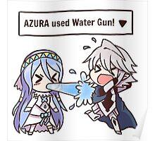 Azura used Water Gun! [Fire Emblem Fates x Pokémon] Poster