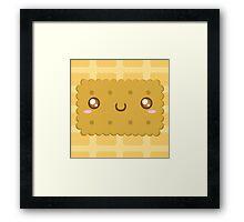 Cute As A Biccy Framed Print