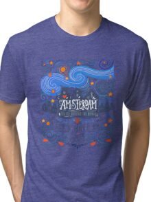Let's move to Amsterdam Tri-blend T-Shirt