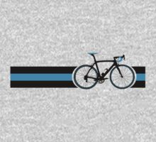 Bike Stripes Team Sky Baby Tee