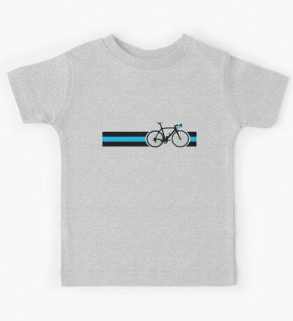 Bike Stripes Team Sky Kids Tee