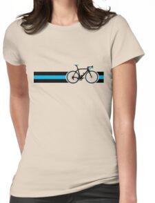 Bike Stripes Team Sky Womens Fitted T-Shirt