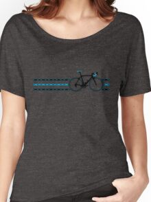 Bike Stripes Team Sky - Chain Women's Relaxed Fit T-Shirt