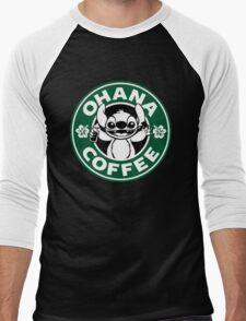 Stitch - Starbucks Men's Baseball ¾ T-Shirt