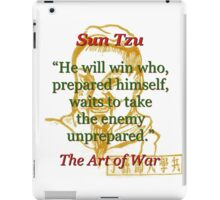 He Will Win - Sun Tzu iPad Case/Skin