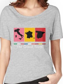 Grand Tours Countries v2 Women's Relaxed Fit T-Shirt
