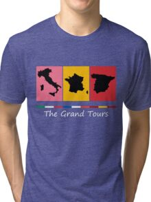 Grand Tours Countries v2 Tri-blend T-Shirt