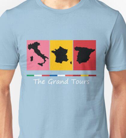 Grand Tours Countries v2 Unisex T-Shirt