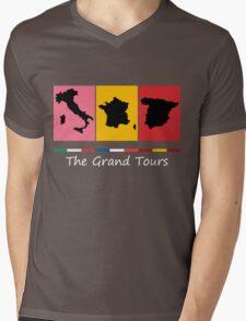 Grand Tours Countries v2 Mens V-Neck T-Shirt