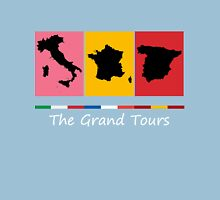 Grand Tours Countries v2 Unisex T-Shirt