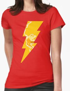 Flash Bolt Womens Fitted T-Shirt