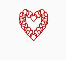 Interlocked Heart Knots Unisex T-Shirt