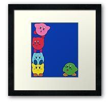 Kirby Totem Framed Print
