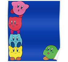 Kirby Totem Poster