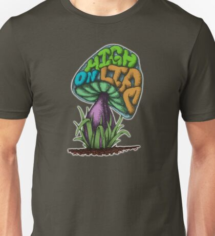 High on Life - The Story of a Mushroom Unisex T-Shirt