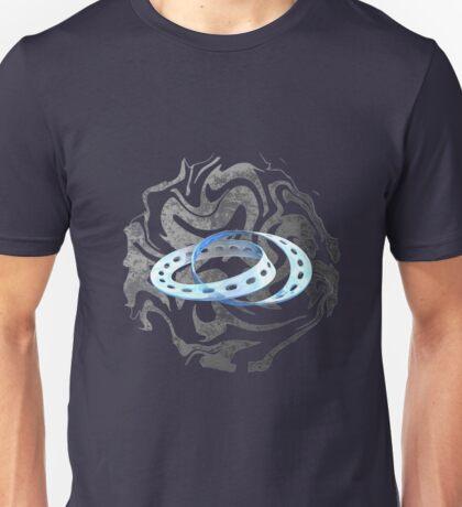 Twin Mobius Strips Unisex T-Shirt