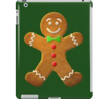Gingerbread man iPad Case/Skin