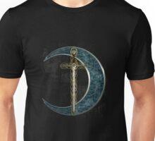 Celtic Moon and Sword Unisex T-Shirt