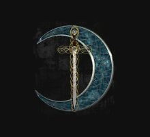 Celtic Moon and Sword Unisex T-Shirt