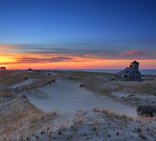Sunset on the Race Beach dunes, Cape Cod National Seashore, Massachusetts by Daniel Arthur Brown