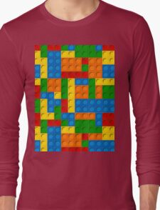 plastic blocks Long Sleeve T-Shirt