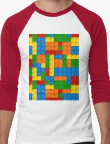 plastic blocks Men's Baseball ¾ T-Shirt