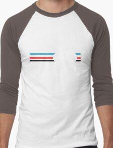 Bike Stripes Velodrome Men's Baseball ¾ T-Shirt