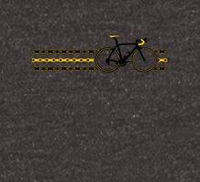 Bike Stripes Yellow/Black - Chain Unisex T-Shirt