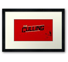 The Culling Red Framed Print