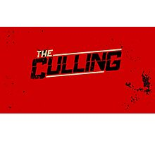 The Culling Red Photographic Print