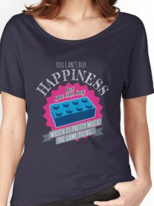 Brick Happiness Women's Relaxed Fit T-Shirt